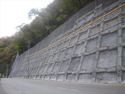 主要地方道笛吹市川三郷線 高萩地内災害防除工事(明許)