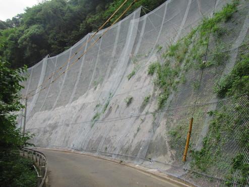 河面大平線防護柵設置工事