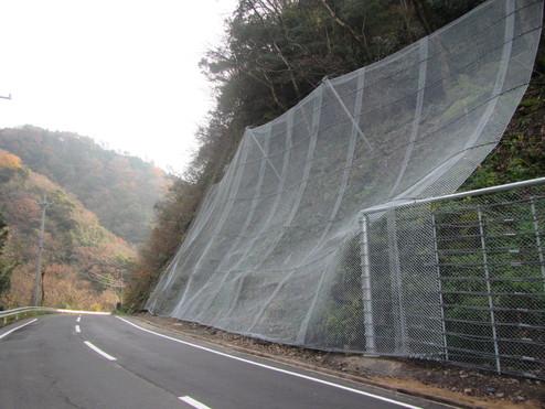 (一)佐田八神線 大呂工区 道路災害関連(災害対策推進) 工事その1